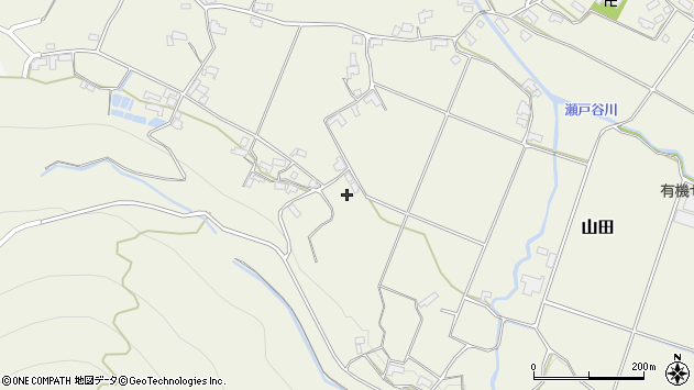 大分県玖珠郡玖珠町山田2048周辺の地図
