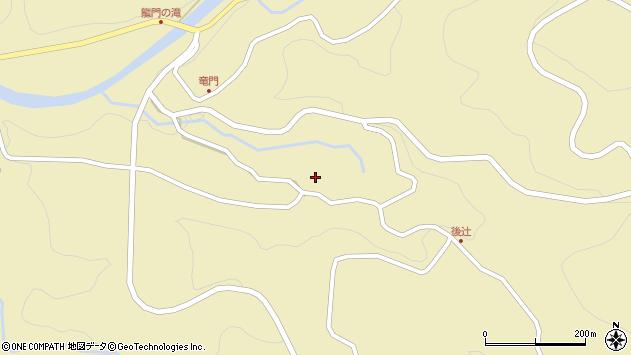 大分県玖珠郡九重町松木3492周辺の地図