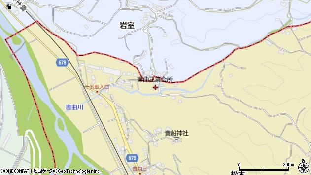 大分県玖珠郡九重町松木158周辺の地図