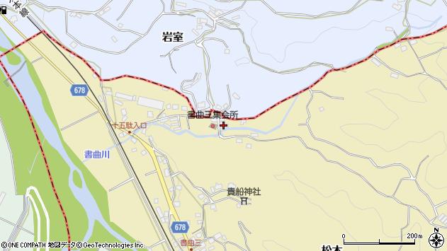 大分県玖珠郡九重町松木161周辺の地図