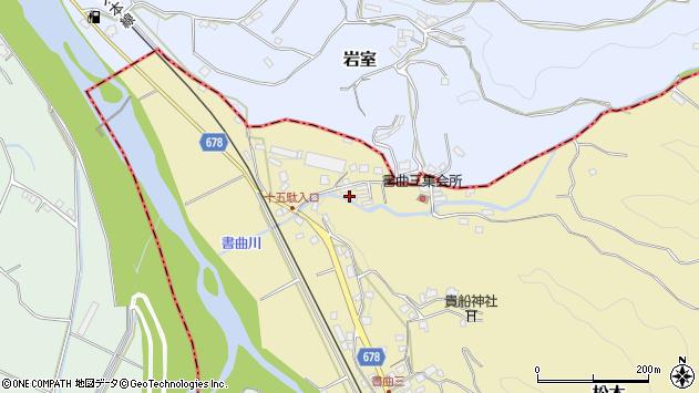大分県玖珠郡九重町松木156周辺の地図
