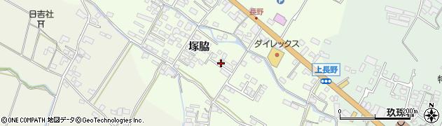 大分県玖珠郡玖珠町塚脇783周辺の地図