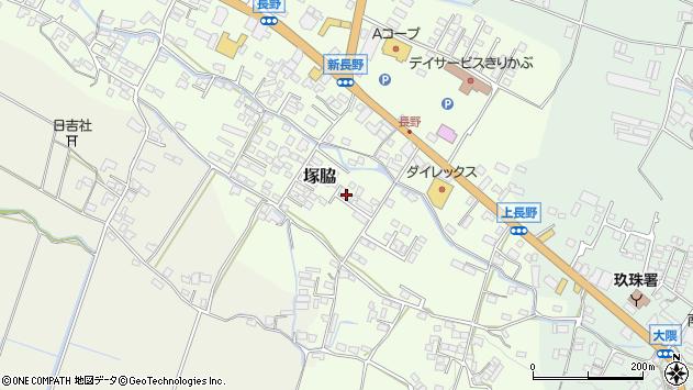 大分県玖珠郡玖珠町塚脇774周辺の地図