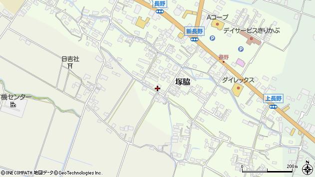 大分県玖珠郡玖珠町塚脇754周辺の地図