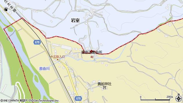大分県玖珠郡九重町松木159周辺の地図