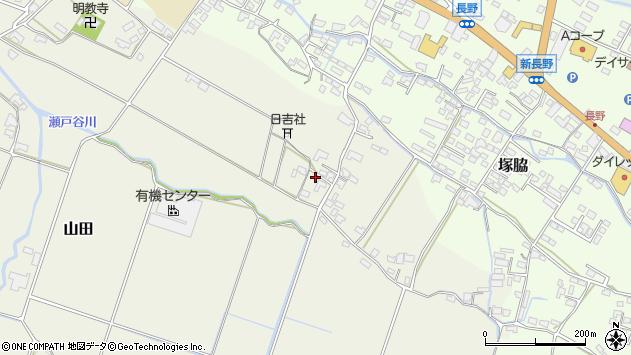 大分県玖珠郡玖珠町山田531周辺の地図
