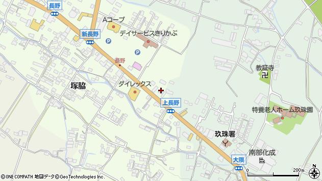大分県玖珠郡玖珠町塚脇712周辺の地図