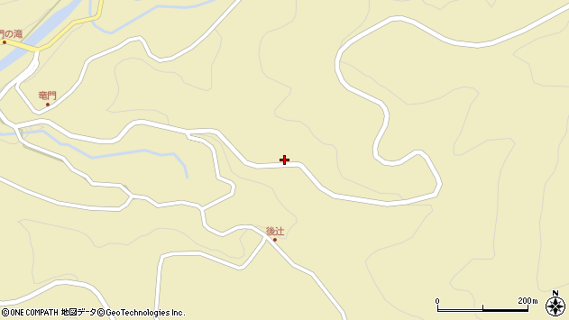 大分県玖珠郡九重町松木326周辺の地図