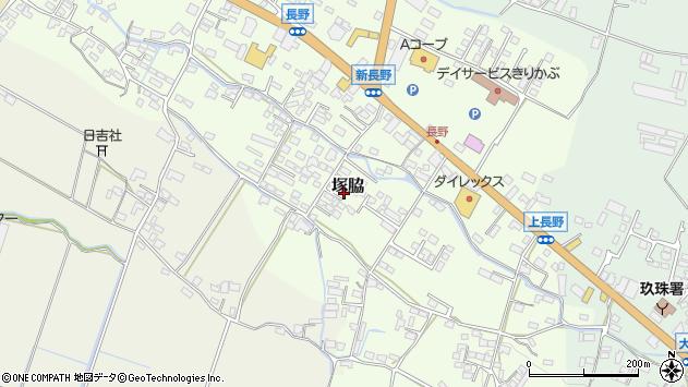 大分県玖珠郡玖珠町塚脇766周辺の地図