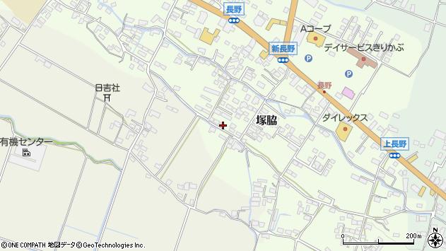 大分県玖珠郡玖珠町塚脇753周辺の地図
