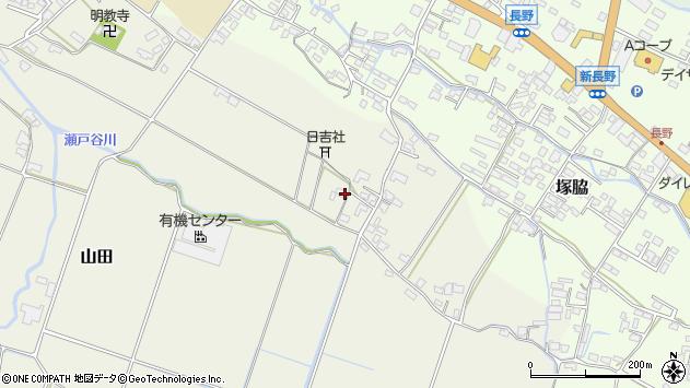 大分県玖珠郡玖珠町山田532周辺の地図