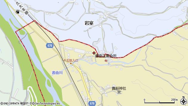 大分県玖珠郡九重町松木165周辺の地図