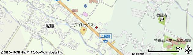 大分県玖珠郡玖珠町塚脇711周辺の地図