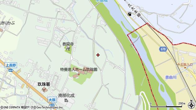 大分県玖珠郡玖珠町大隈大砂周辺の地図