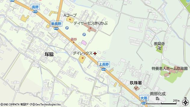 大分県玖珠郡玖珠町塚脇695周辺の地図