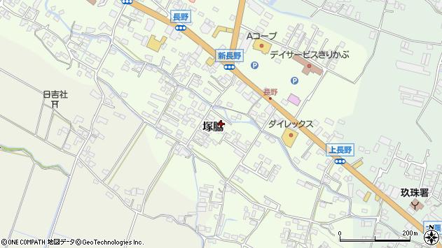 大分県玖珠郡玖珠町塚脇764周辺の地図
