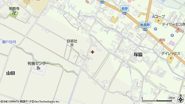 大分県玖珠郡玖珠町山田539周辺の地図