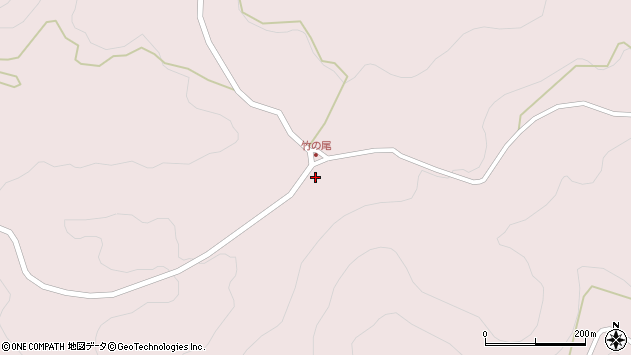 大分県玖珠郡玖珠町戸畑8715周辺の地図