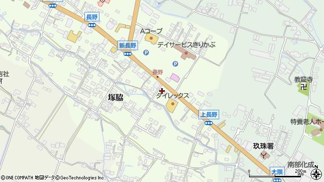 大分県玖珠郡玖珠町塚脇734周辺の地図
