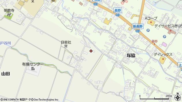 大分県玖珠郡玖珠町山田540周辺の地図