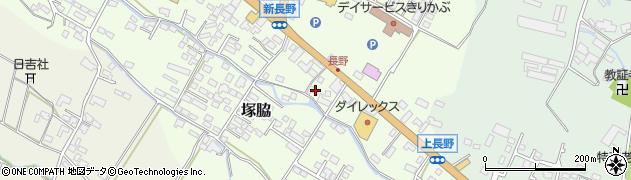 大分県玖珠郡玖珠町塚脇737周辺の地図