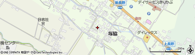 大分県玖珠郡玖珠町塚脇749周辺の地図