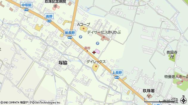 大分県玖珠郡玖珠町塚脇675周辺の地図