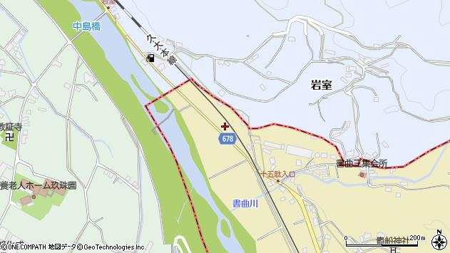 大分県玖珠郡九重町松木110周辺の地図