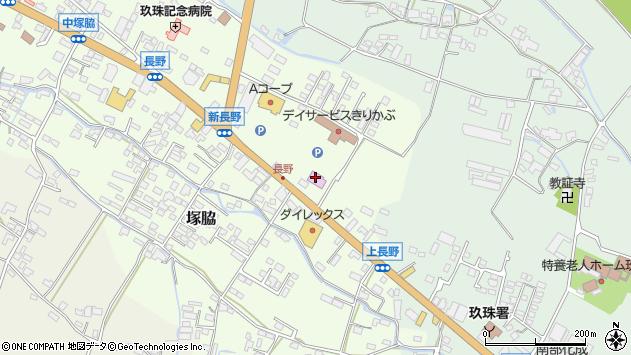 大分県玖珠郡玖珠町塚脇678周辺の地図