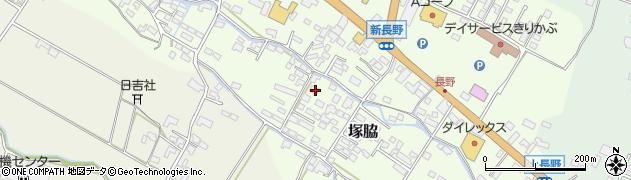 大分県玖珠郡玖珠町塚脇747周辺の地図