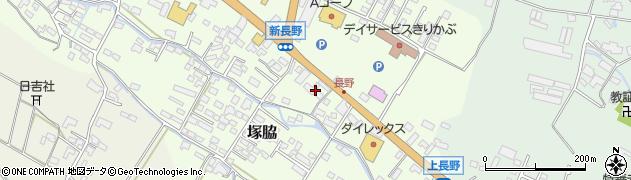 大分県玖珠郡玖珠町塚脇616周辺の地図
