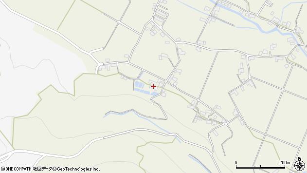 大分県玖珠郡玖珠町山田2109周辺の地図