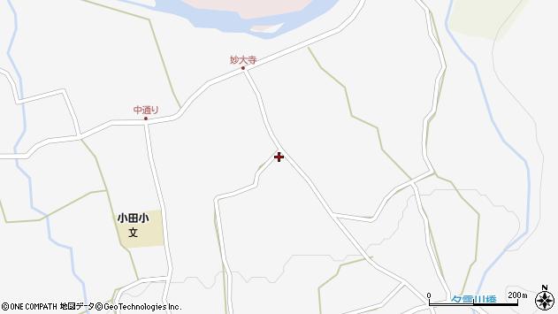 大分県玖珠郡玖珠町小田656周辺の地図