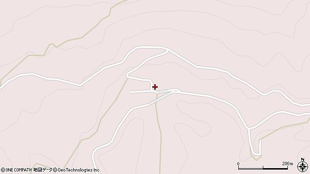 大分県玖珠郡玖珠町戸畑8455周辺の地図