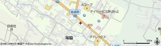 大分県玖珠郡玖珠町塚脇613周辺の地図