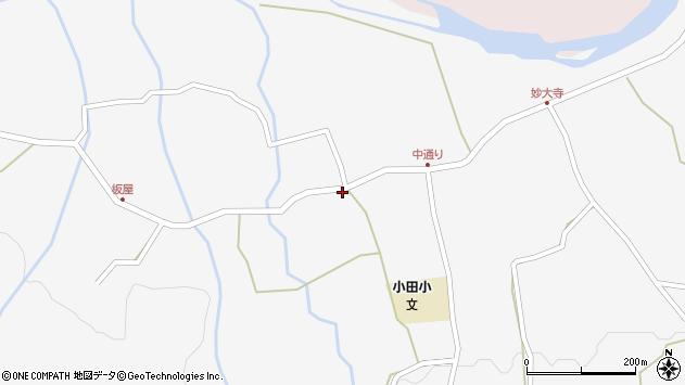 大分県玖珠郡玖珠町小田999周辺の地図