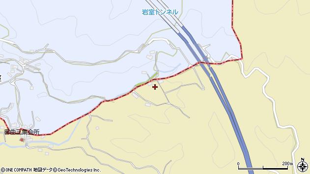 大分県玖珠郡九重町松木258周辺の地図