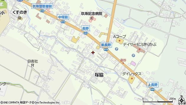 大分県玖珠郡玖珠町塚脇553周辺の地図