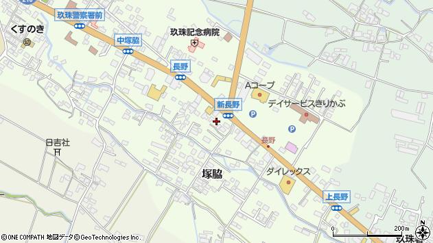 大分県玖珠郡玖珠町塚脇620周辺の地図