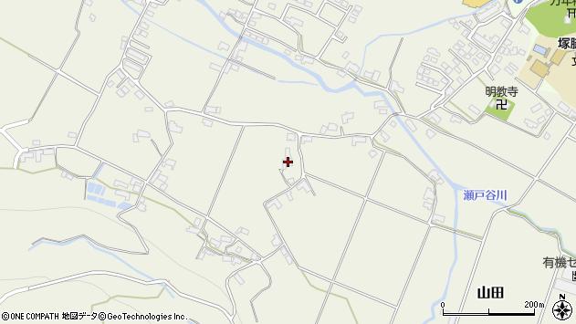 大分県玖珠郡玖珠町山田1966周辺の地図
