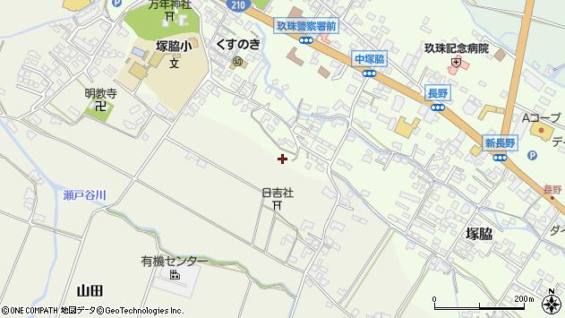 大分県玖珠郡玖珠町塚脇513周辺の地図