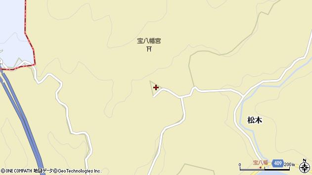 大分県玖珠郡九重町松木1359周辺の地図