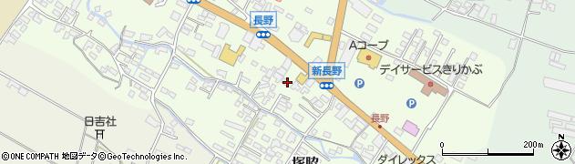大分県玖珠郡玖珠町塚脇555周辺の地図