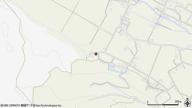 大分県玖珠郡玖珠町山田2144周辺の地図