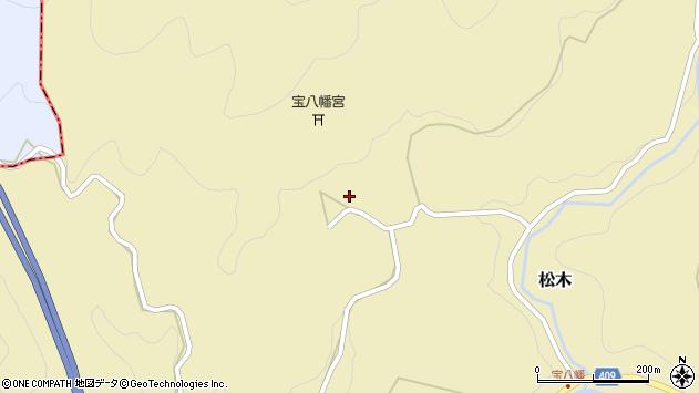 大分県玖珠郡九重町松木1318周辺の地図