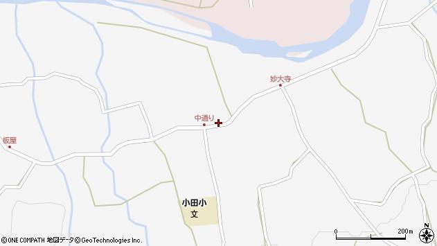 大分県玖珠郡玖珠町小田903周辺の地図