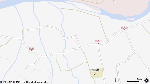 大分県玖珠郡玖珠町小田875周辺の地図