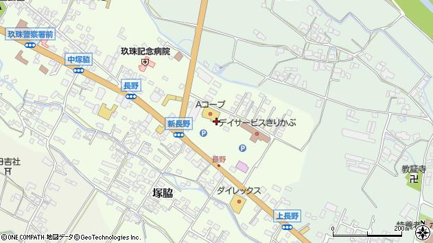 大分県玖珠郡玖珠町塚脇651周辺の地図