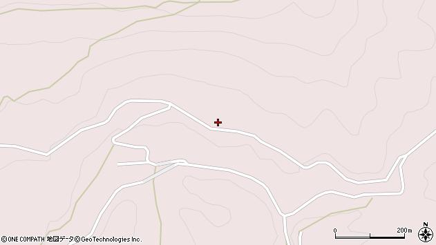 大分県玖珠郡玖珠町戸畑8207周辺の地図