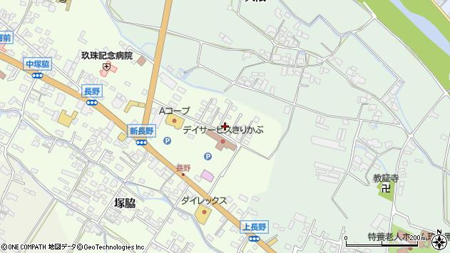 大分県玖珠郡玖珠町塚脇681周辺の地図